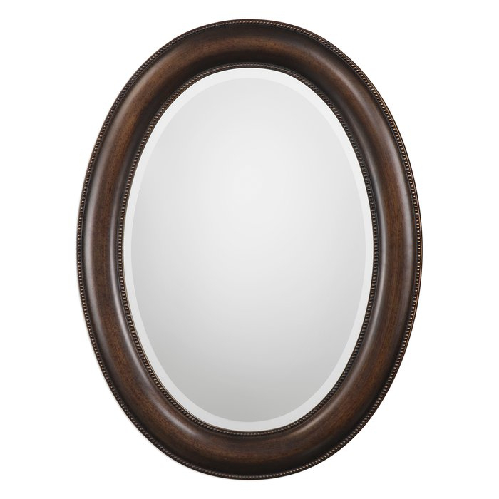 Traditional Beveled Distressed Accent Mirror Regarding Alie Traditional Beveled Distressed Accent Mirrors (#19 of 20)