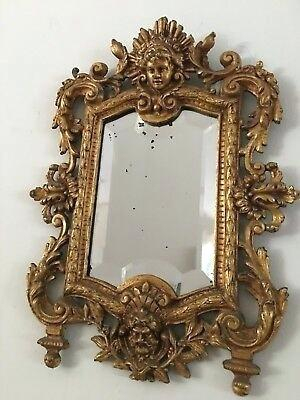 Traditional Framed Wall Mirror Gold Majestic Antique Round Within Traditional Accent Mirrors (#20 of 20)