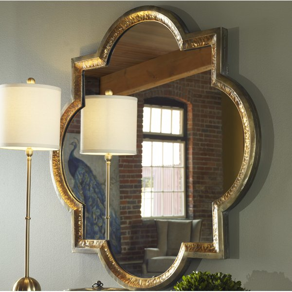 Traditional Metal Frame Wall Mirror Regarding Traditional Metal Wall Mirrors (#9 of 20)