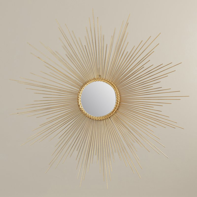 Traditional Metal Wall Mirror Pertaining To Traditional Metal Wall Mirrors (#12 of 20)
