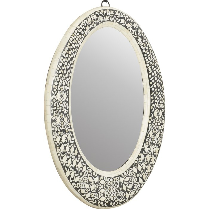Inspiration about Traditional Oval Wall Mirror Within Traditional/coastal Accent Mirrors (#18 of 20)