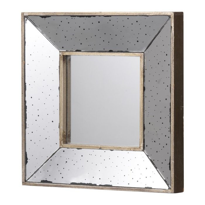 Traditional Square Glass Wall Mirror Inside Traditional Square Glass Wall Mirrors (#14 of 20)