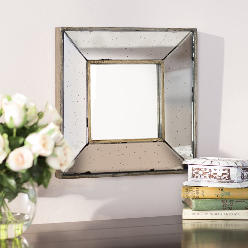 Inspiration about Traditional Square Glass Wall Mirror Intended For Traditional Square Glass Wall Mirrors (#1 of 20)