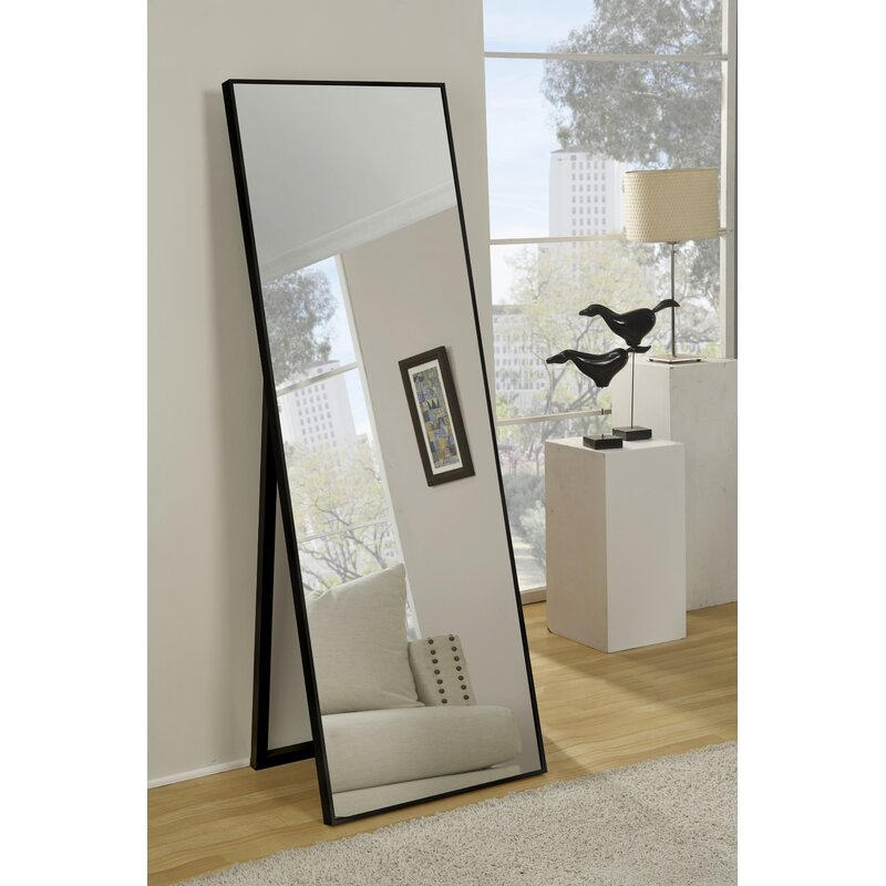 Traub Standing Modern & Contemporary Beveled Full Length Mirror For Modern & Contemporary Full Length Mirrors (View 4 of 20)