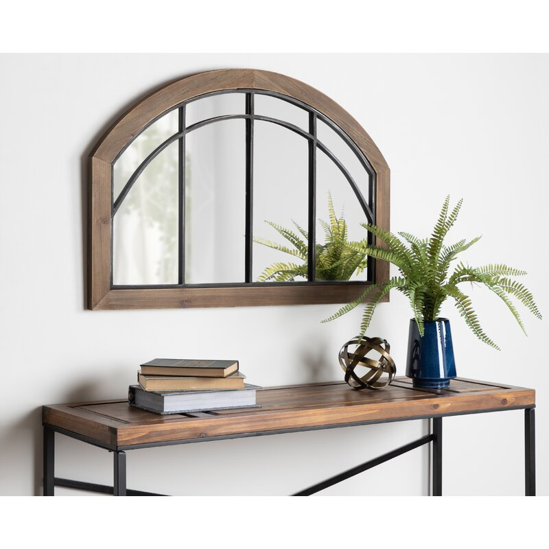 Inspiration about Treadwell Traditional Wood Arch Accent Mirror Inside Juliana Accent Mirrors (#13 of 20)