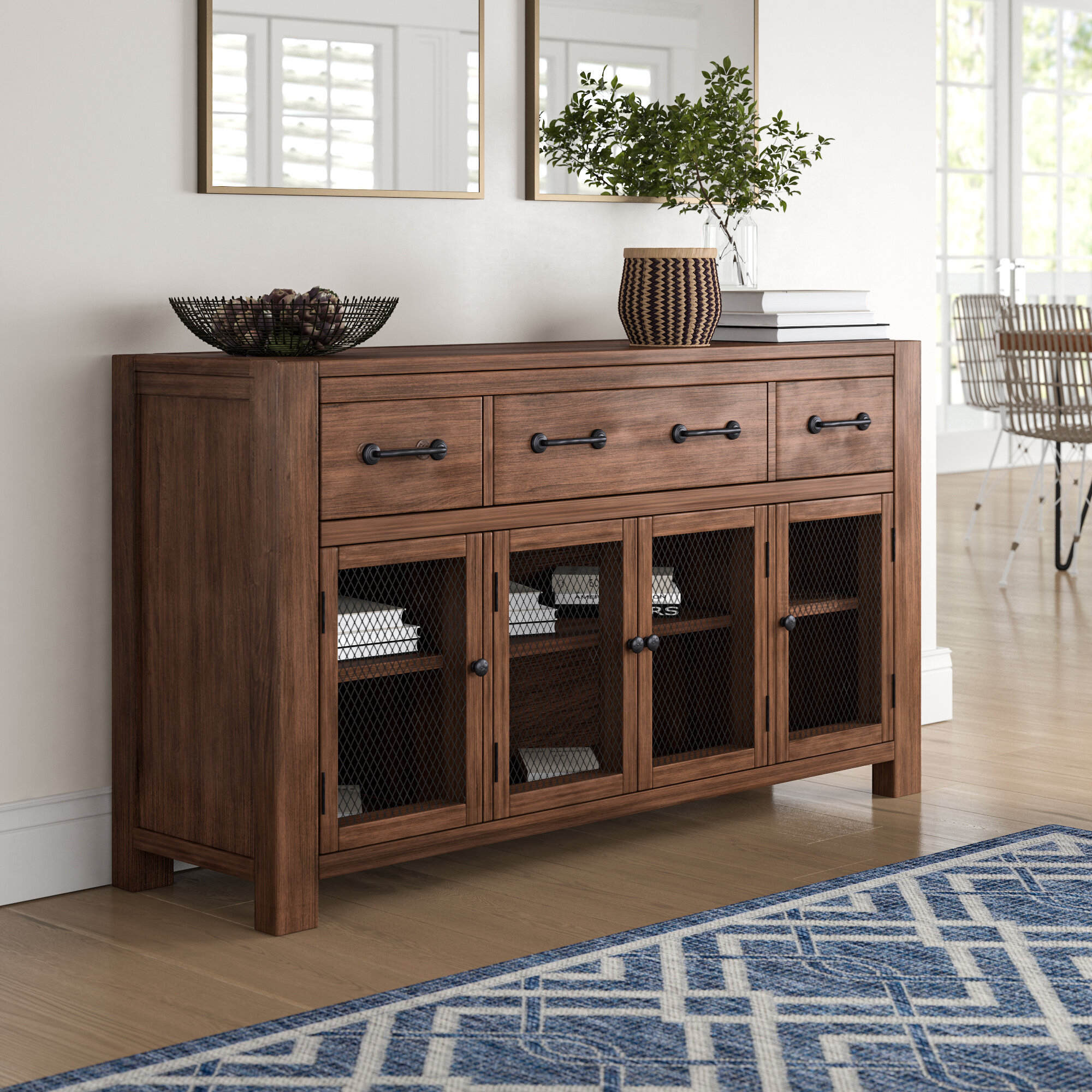 Inspiration about Trevion Buffet Table Regarding Most Recently Released Filkins Sideboards (#4 of 20)