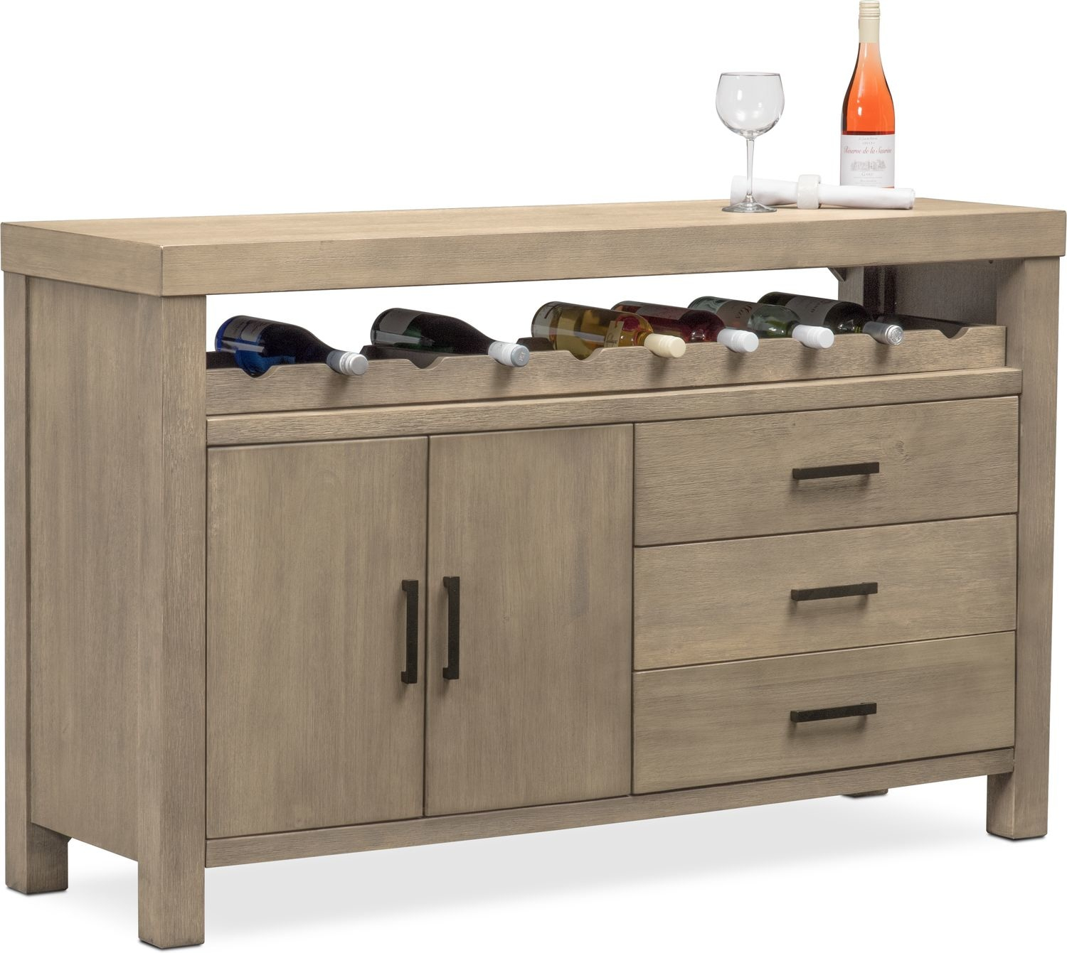 Inspiration about Tribeca Sideboard – Gray Inside Most Current Tribeca Sideboards (#10 of 20)