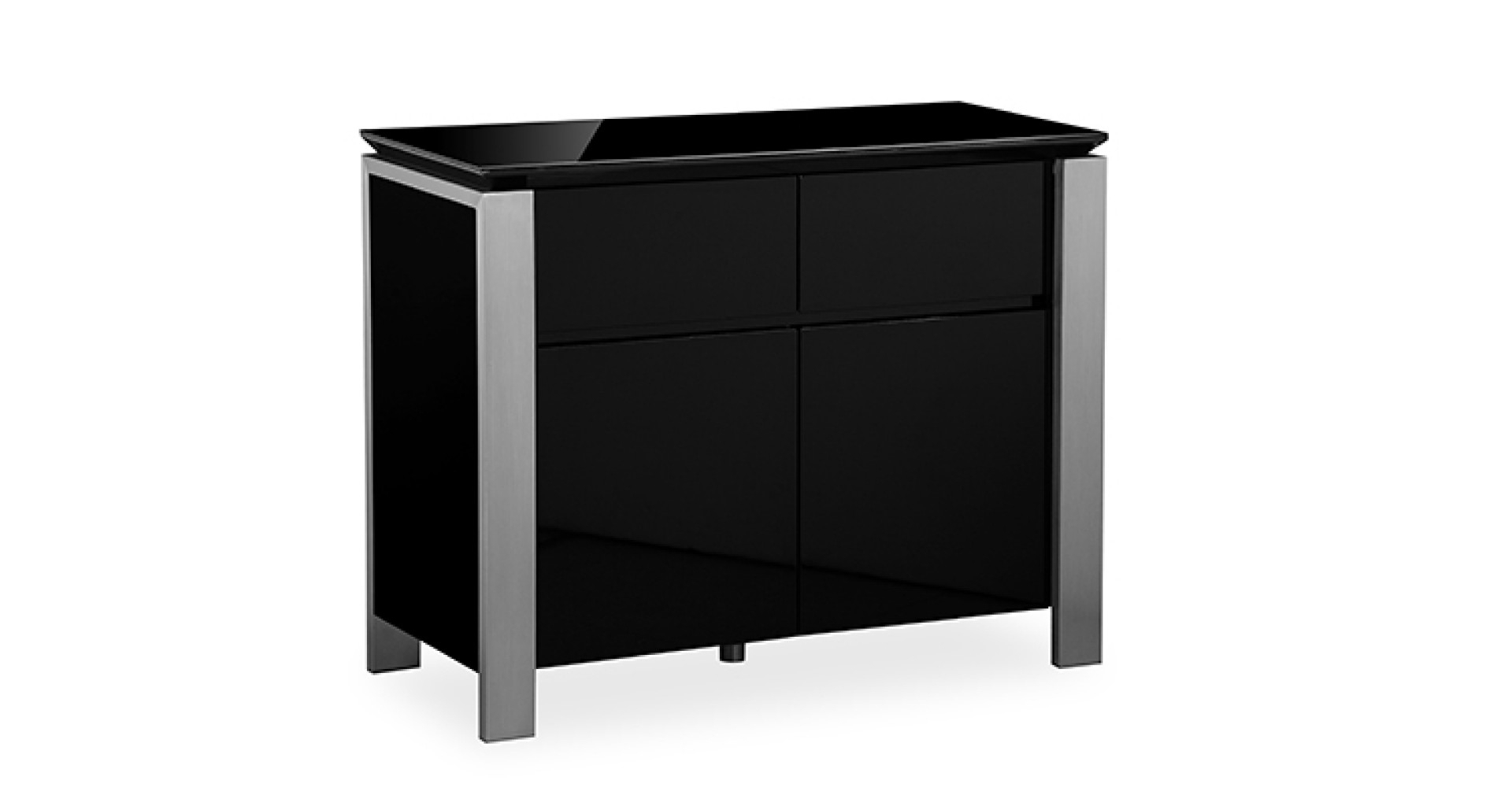 Inspiration about Tribeca – Small Sideboard – Black High Gloss Pertaining To Most Recently Released Tribeca Sideboards (#13 of 20)