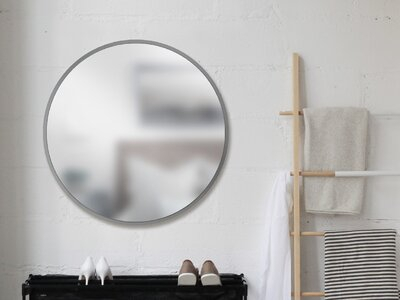 Umbra Hub Modern And Contemporary Accent Mirror Throughout Menachem Modern & Contemporary Accent Mirrors (#20 of 20)