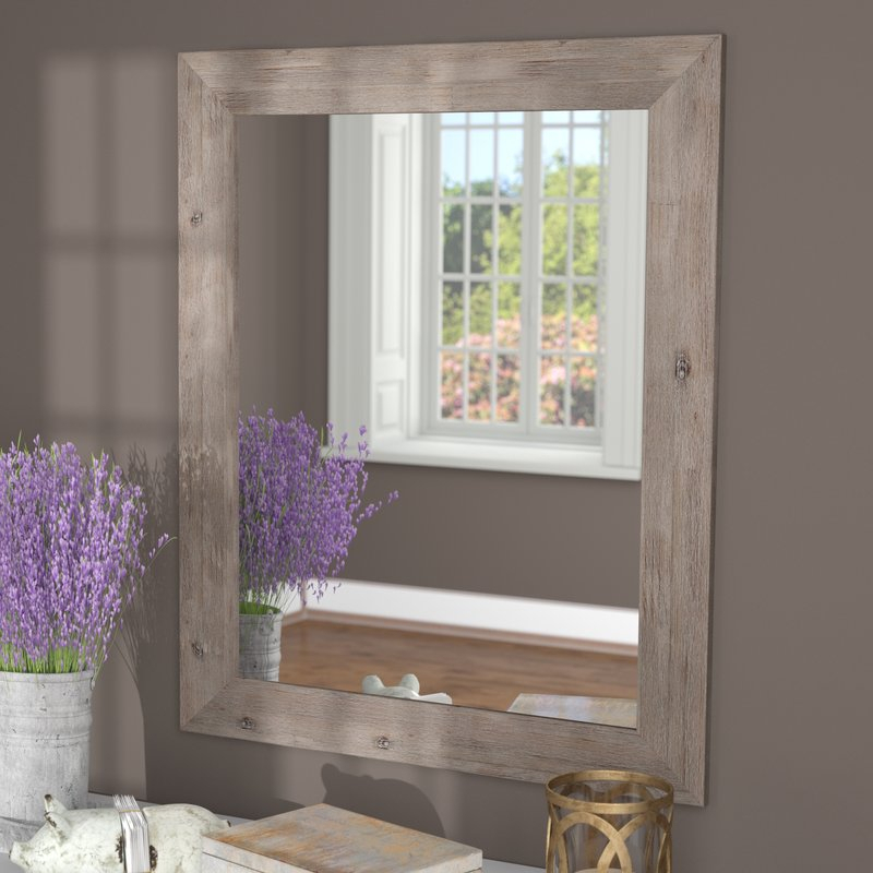 Union Rustic Glynis Wild West Accent Mirror & Reviews | Wayfair For Glynis Wild West Accent Mirrors (View 5 of 20)
