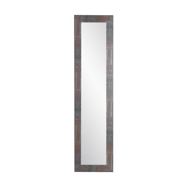 Urban Industrial Loft Slim Full Length Mirror Within Industrial Full Length Mirrors (#20 of 20)