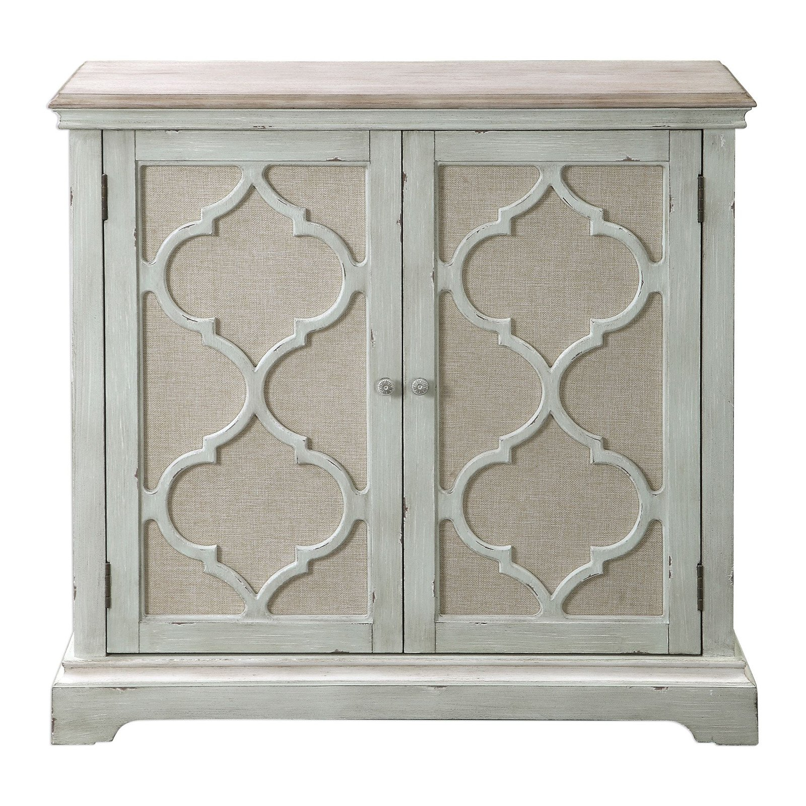 Inspiration about Uttermost Sophie Sea Grey 2 Door Cabinet | Products In 2019 Regarding Latest Kara 4 Door Accent Cabinets (#15 of 20)