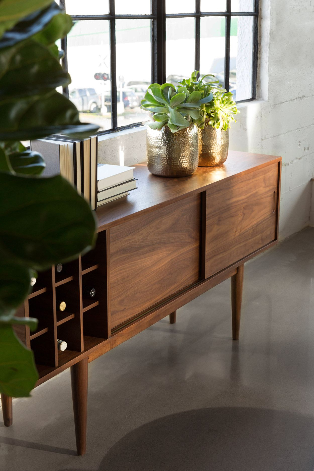V Bar Sideboard | Mid Century In 2019 | Walnut Sideboard Throughout Newest Upper Stanton Sideboards (#17 of 20)