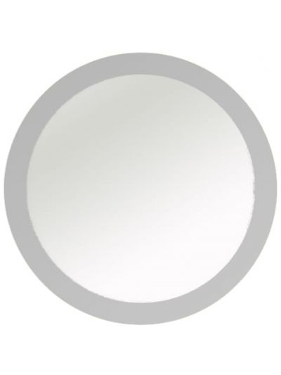 Inspiration about Vanderbilt Frosted Border Round Wall Mirror With Kentwood Round Wall Mirrors (#11 of 20)