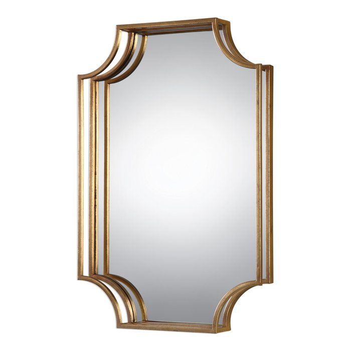 Vansickle Metal Accent Wall Mirror Pertaining To Moseley Accent Mirrors (View 13 of 20)