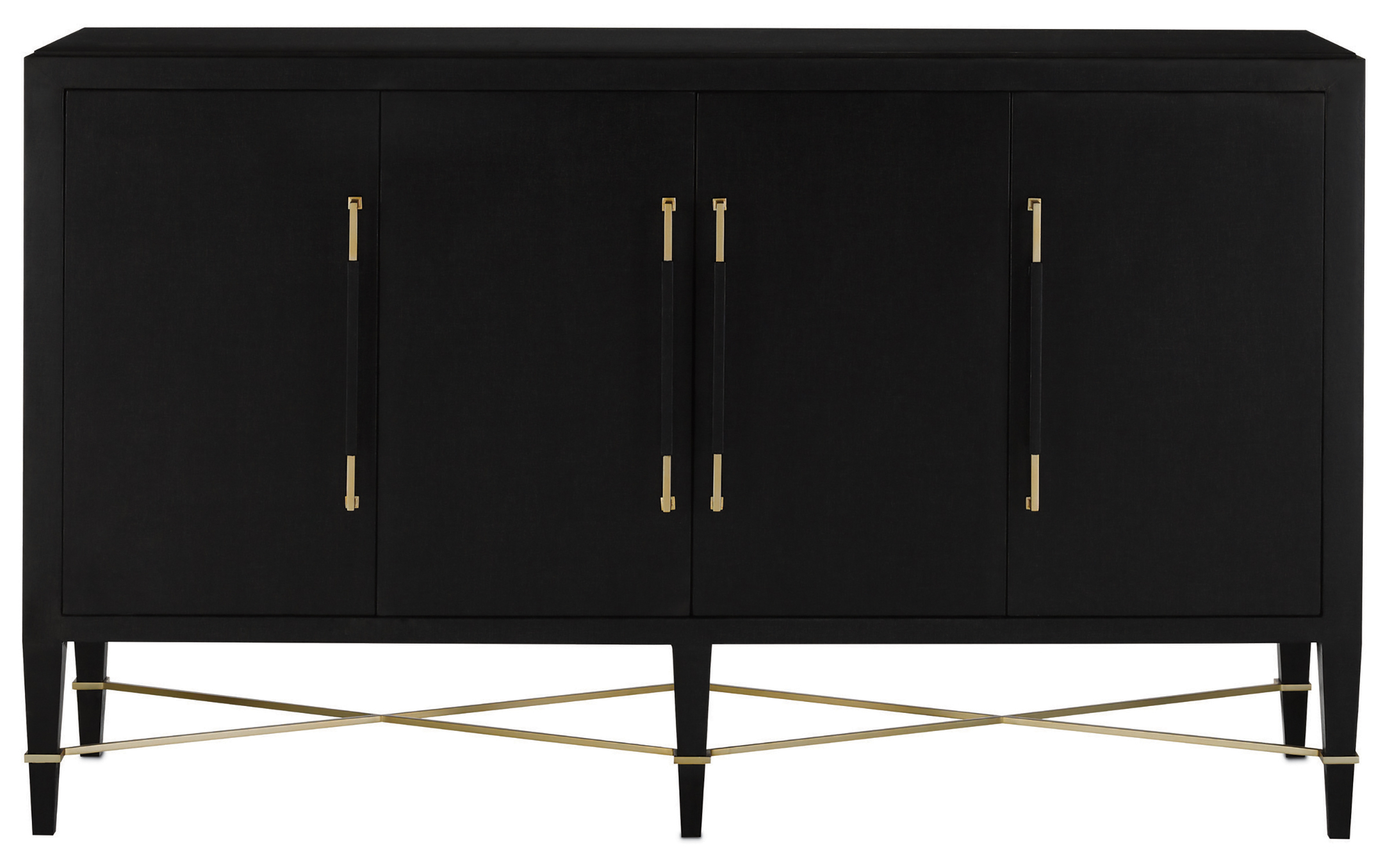 Verona Black Sideboard Regarding Most Recently Released Phyllis Sideboards (#19 of 20)