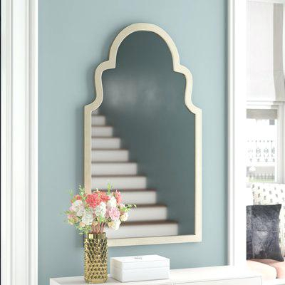 Vertical Wall Mirror Arch Top Vertical Wall Mirror Orren Intended For Pennsburg Rectangle Wall Mirrors (#12 of 20)