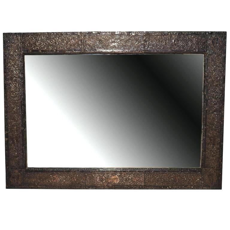 Inspiration about Vertical Wall Mirror Metal Frame – Gowithflo Inside Pennsburg Rectangle Wall Mirrors (#20 of 20)