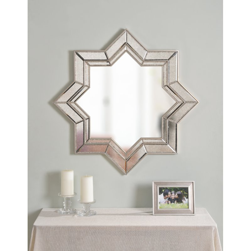 Inspiration about Vess Accent Mirror Intended For Gia Hexagon Accent Mirrors (#19 of 20)