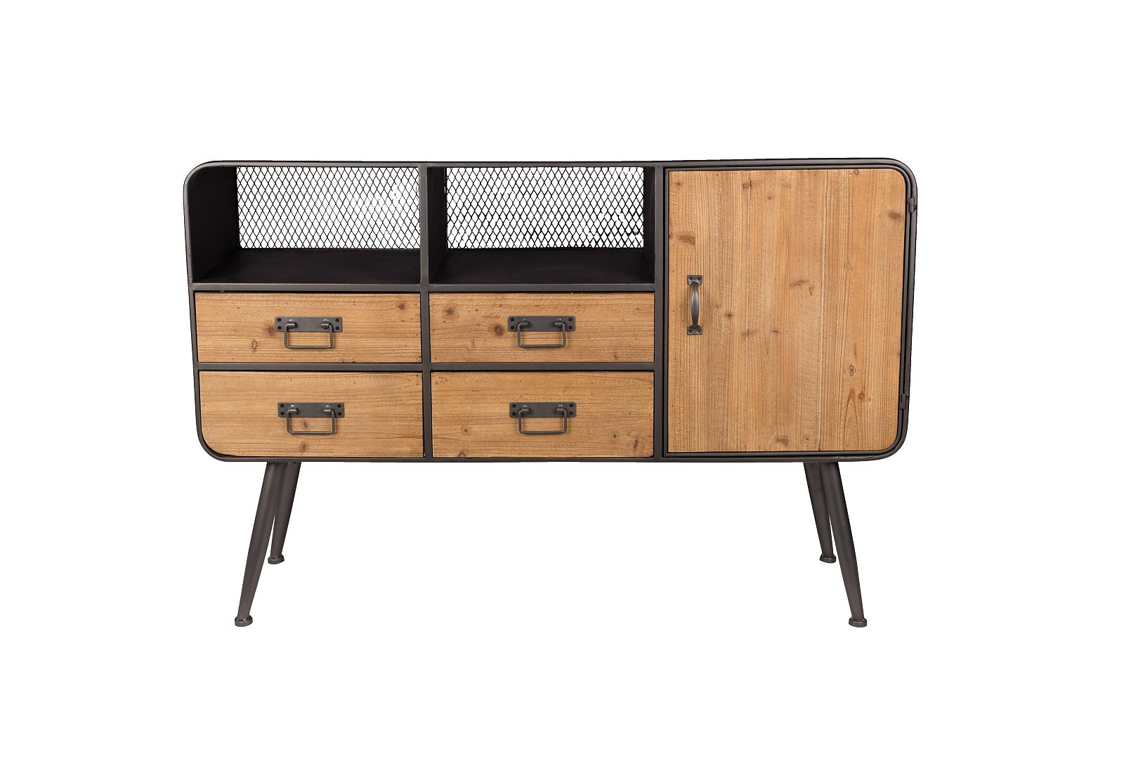Inspiration about Vintage Sideboard Kommode High Gin Industrial Inside Most Recent Damian Sideboards (#19 of 20)