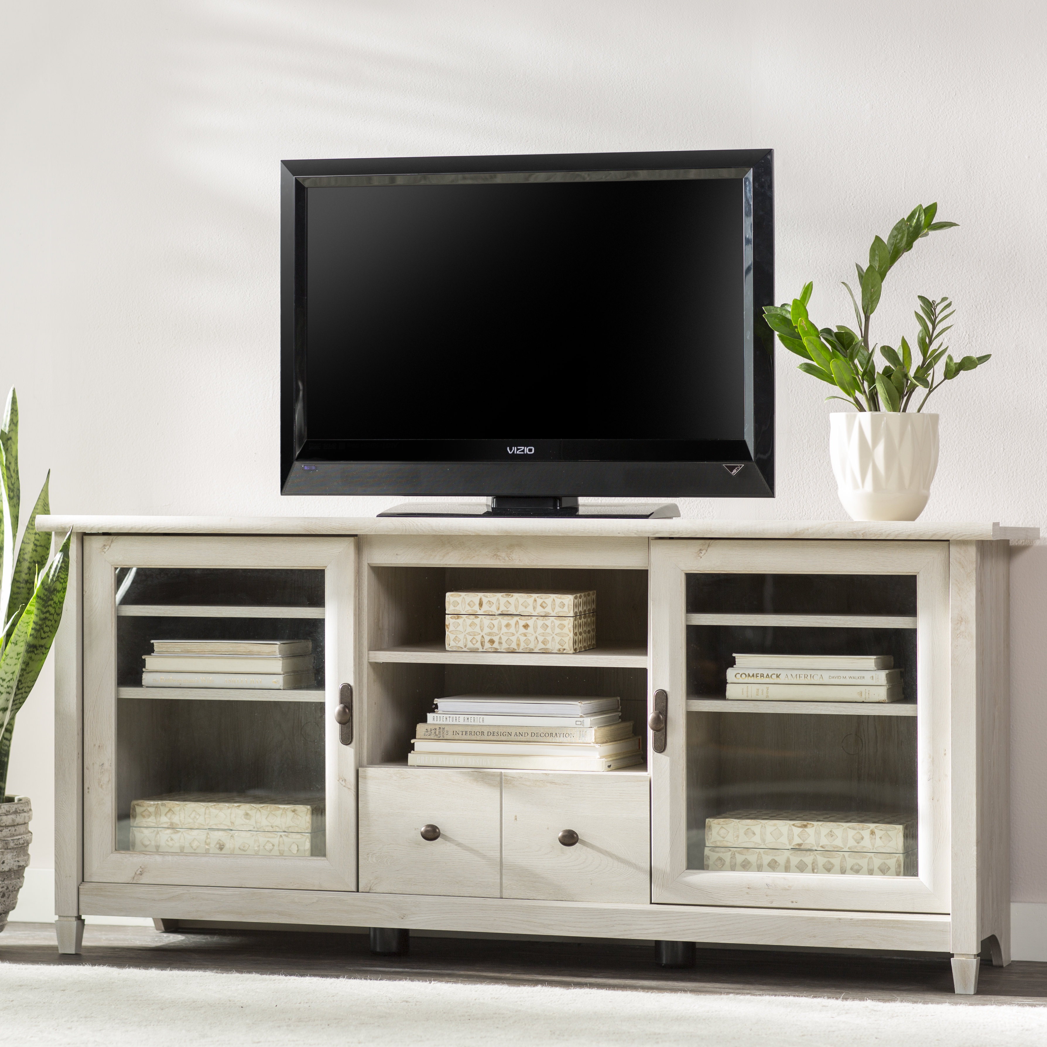 "Inspiration about Vintage Tv Stand | Wayfair Inside Best And Newest Colefax Vintage Tv Stands For Tvs Up To 78"" (#13 of 20)"
