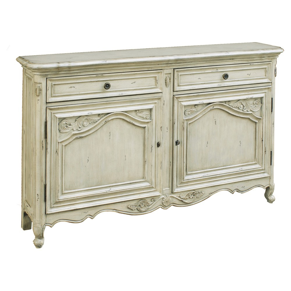 Inspiration about Vista Antique Carved Door Console – White – Pulaski In 2019 For Latest Dormer Sideboards (#11 of 20)