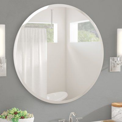 "Wade Logan Kayden Accent Mirror Size: 30"" H X 30"" W In 2019 With Regard To Kayden Accent Mirrors (View 7 of 20)"