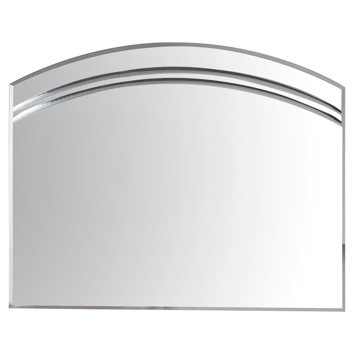 Wallingford Large Frameless Wall Mirror For Wallingford Large Frameless Wall Mirrors (#15 of 20)