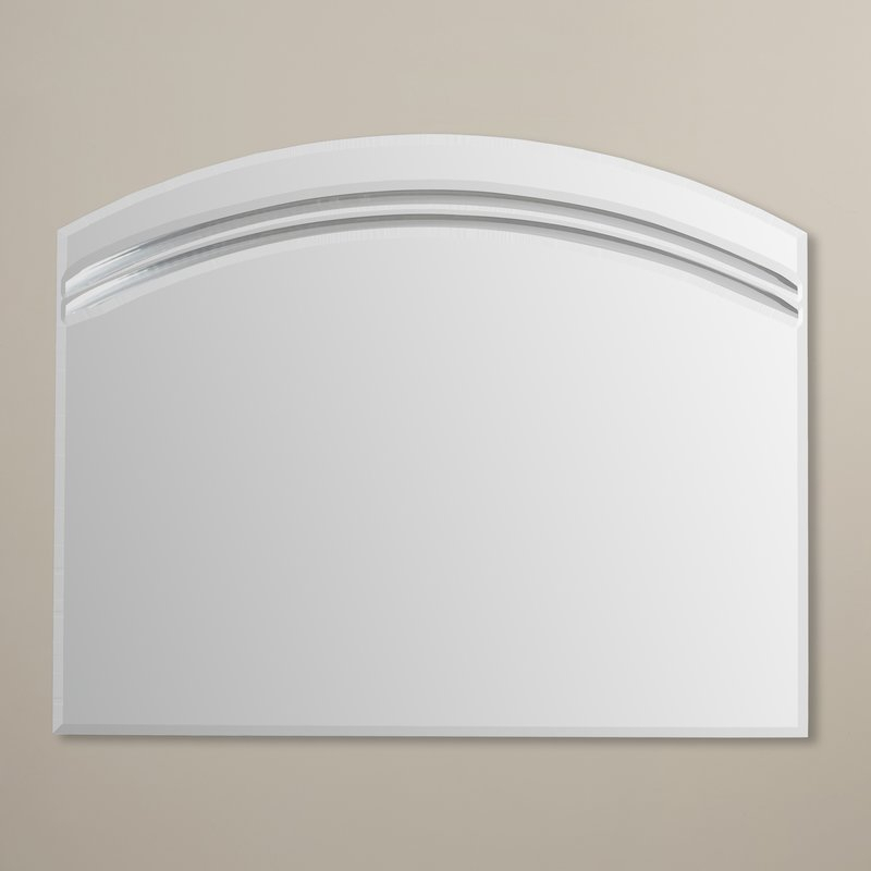Wallingford Large Frameless Wall Mirror Pertaining To Wallingford Large Frameless Wall Mirrors (#18 of 20)
