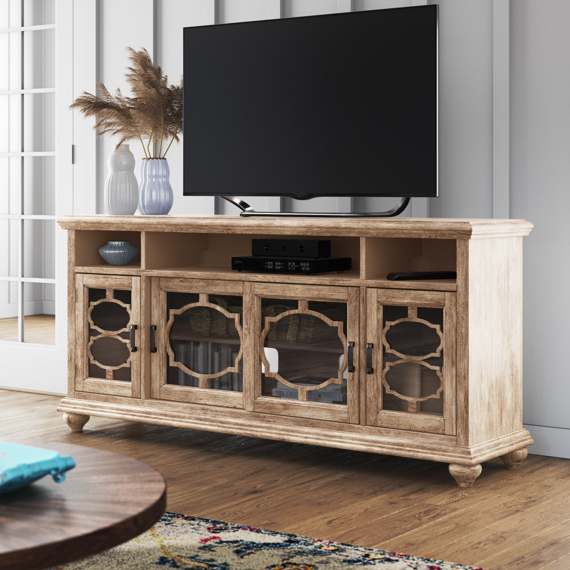 """West Newbury Tv Stand For Tvs Up To 70"""" Throughout Most Recent Colefax Vintage Tv Stands For Tvs Up To 78"""" (#19 of 20)"""