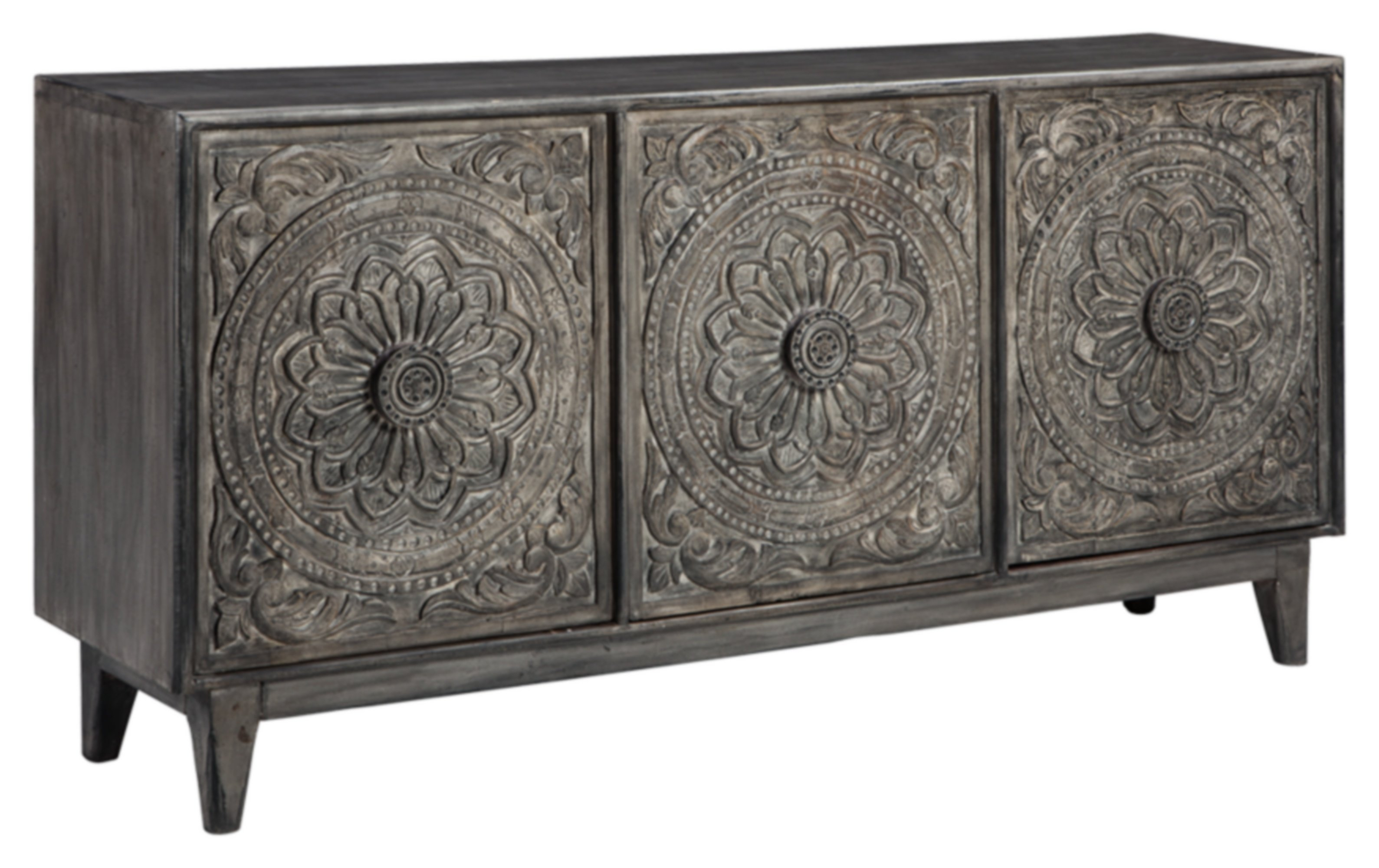 Inspiration about Wethersfield 3 Door Accent Cabinet For Most Current Kattie 4 Door Cabinets (#20 of 20)