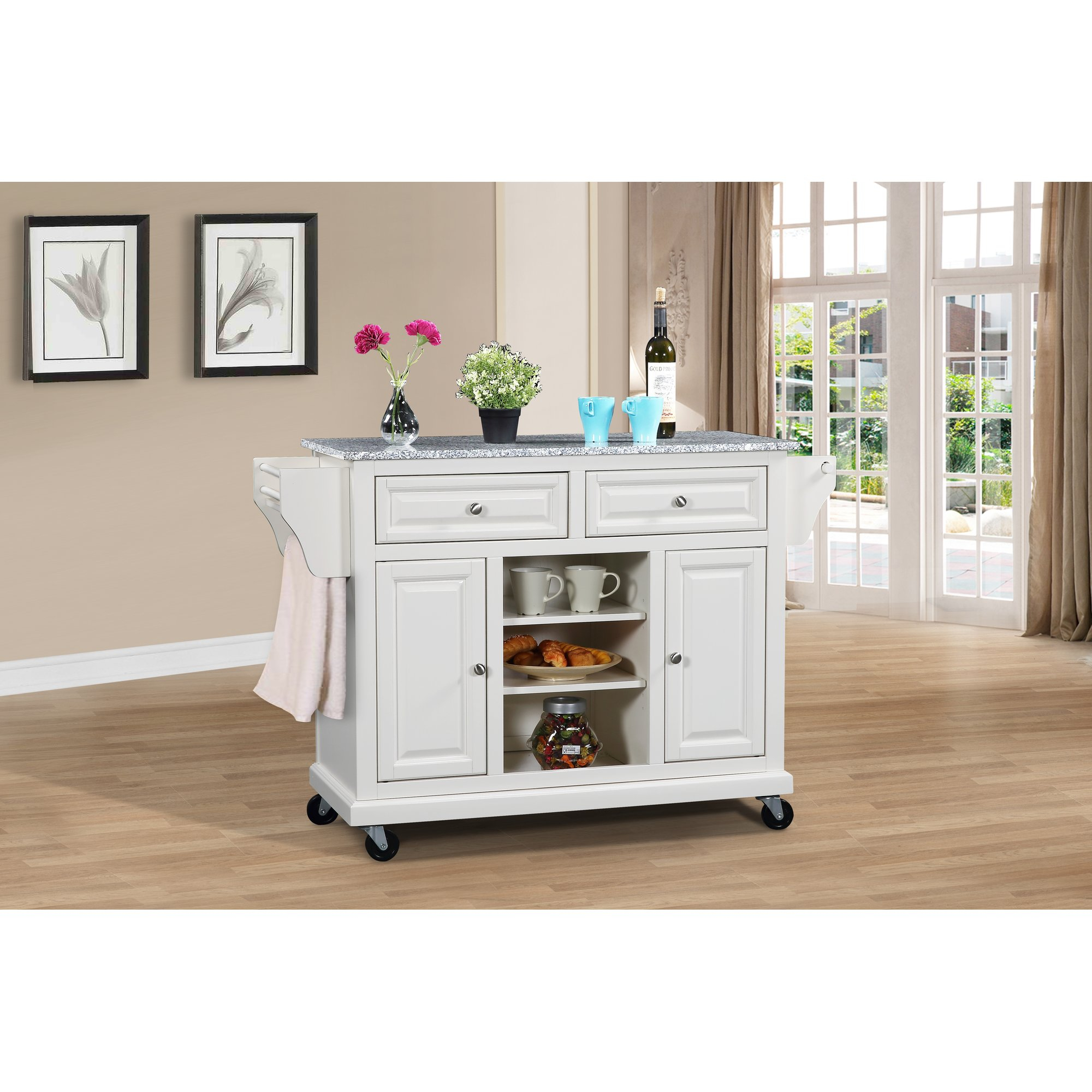 Inspiration about Wildon Home Kitchen Island With Granite Top Reviews New Age Pertaining To Most Recent Sideboards By Wildon Home (#20 of 20)