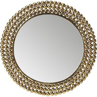 Inspiration about Willa Arlo Interiors Traditional Round Metal Frame Accent Pertaining To Traditional/coastal Accent Mirrors (#19 of 20)