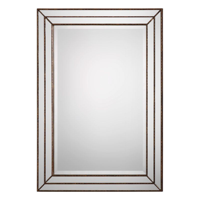 Inspiration about Willacoochee Traditional Beveled Accent Mirror In 2019 Pertaining To Traditional Beveled Accent Mirrors (#9 of 20)