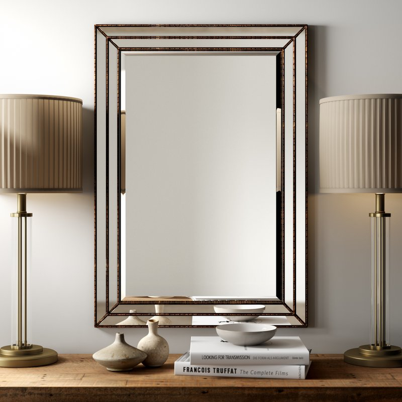 Popular Photo of Traditional Beveled Accent Mirrors