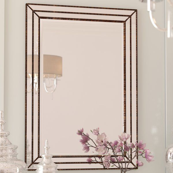 Inspiration about Willacoochee Traditional Beveled Accent Mirror | Jess And Within Willacoochee Traditional Beveled Accent Mirrors (#8 of 20)