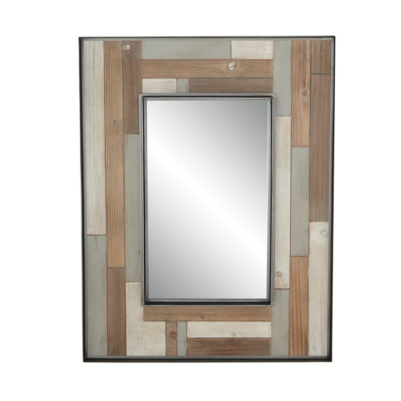 Inspiration about Williamstown Rustic Rectangular Accent Mirror In Lajoie Rustic Accent Mirrors (#14 of 20)
