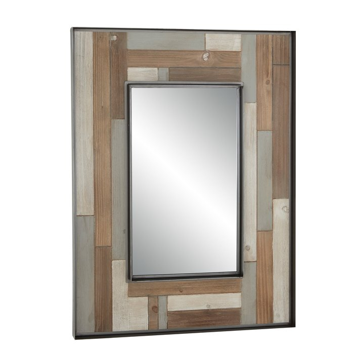 Inspiration about Williamstown Rustic Rectangular Accent Mirror With Regard To Berinhard Accent Mirrors (#7 of 20)