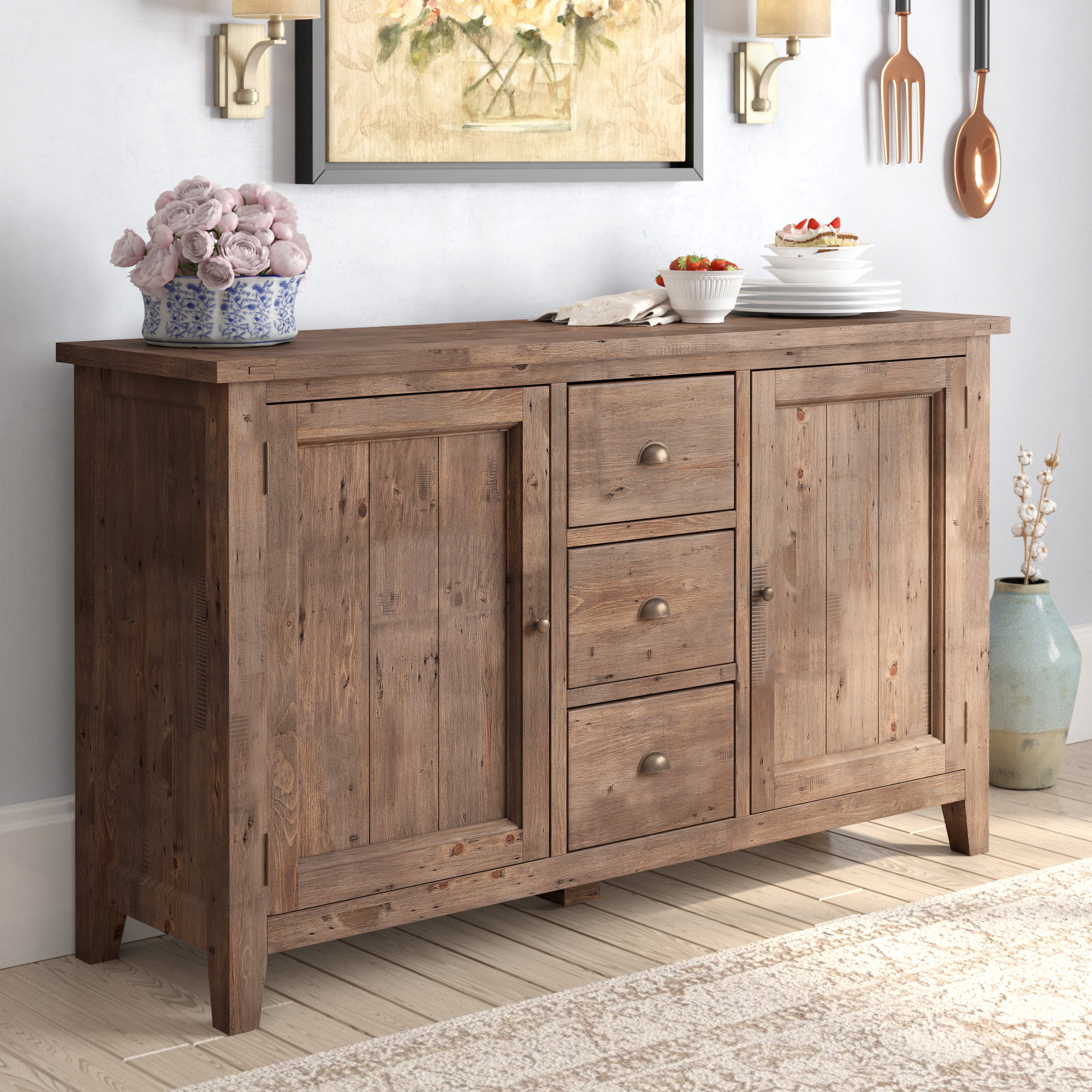 Wilmore Sideboard Inside Most Up To Date Whitten Sideboards (#20 of 20)