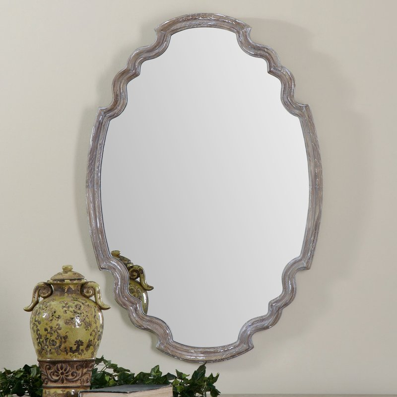Inspiration about Wood Accent Mirror Intended For Wood Accent Mirrors (#1 of 20)