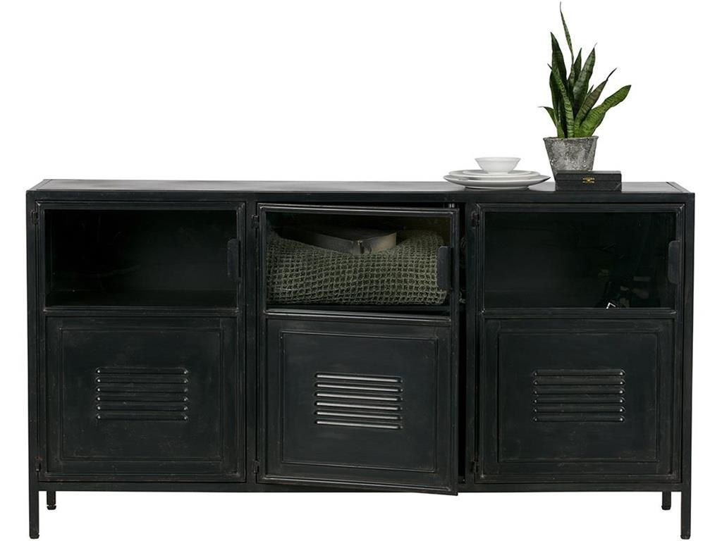 Inspiration about Woood Ronja Metall Sideboard Schwarz Inside 2018 Damian Sideboards (#15 of 20)