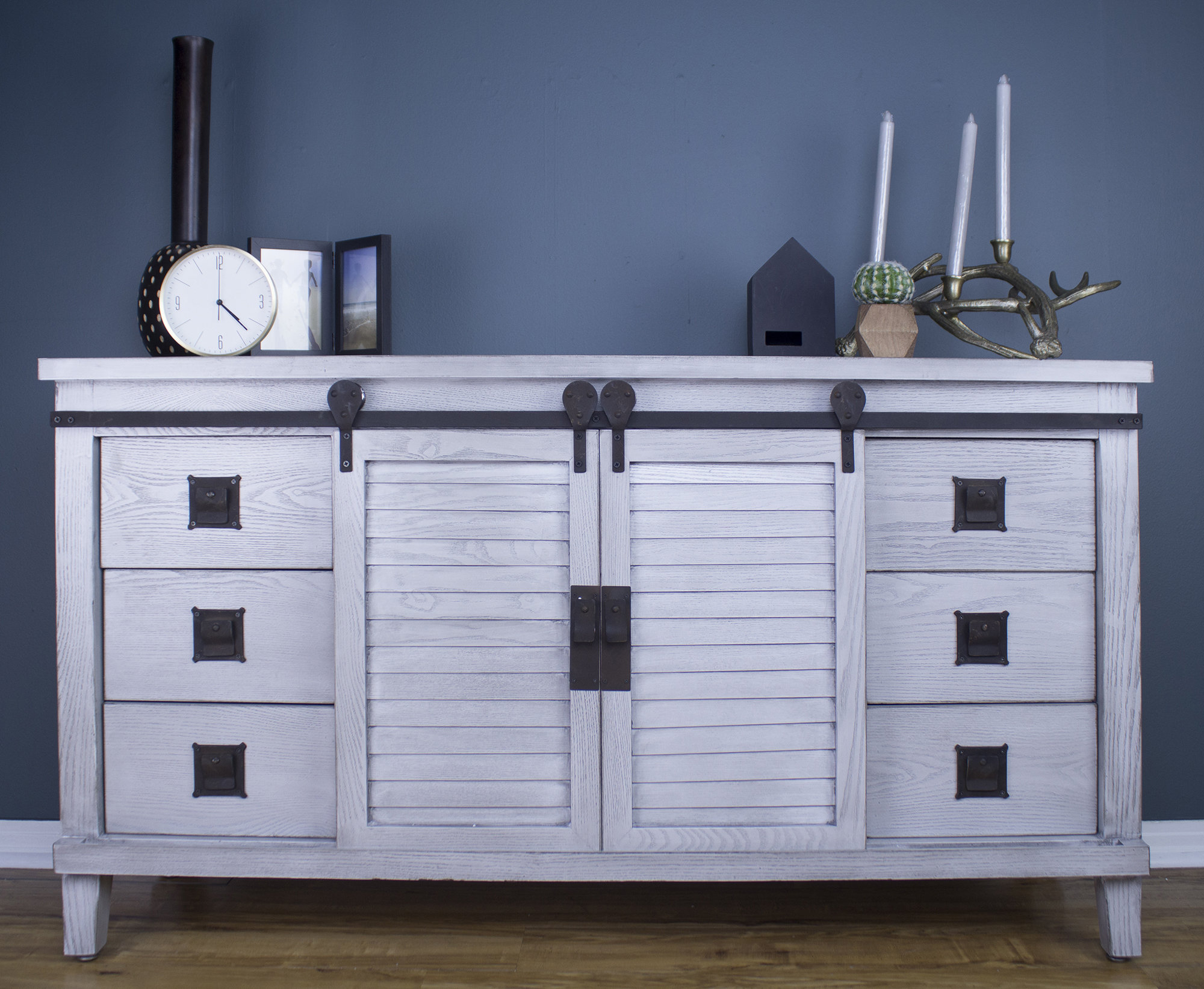 Wrought Iron Sideboard | Wayfair For Most Popular Upper Stanton Sideboards (#19 of 20)