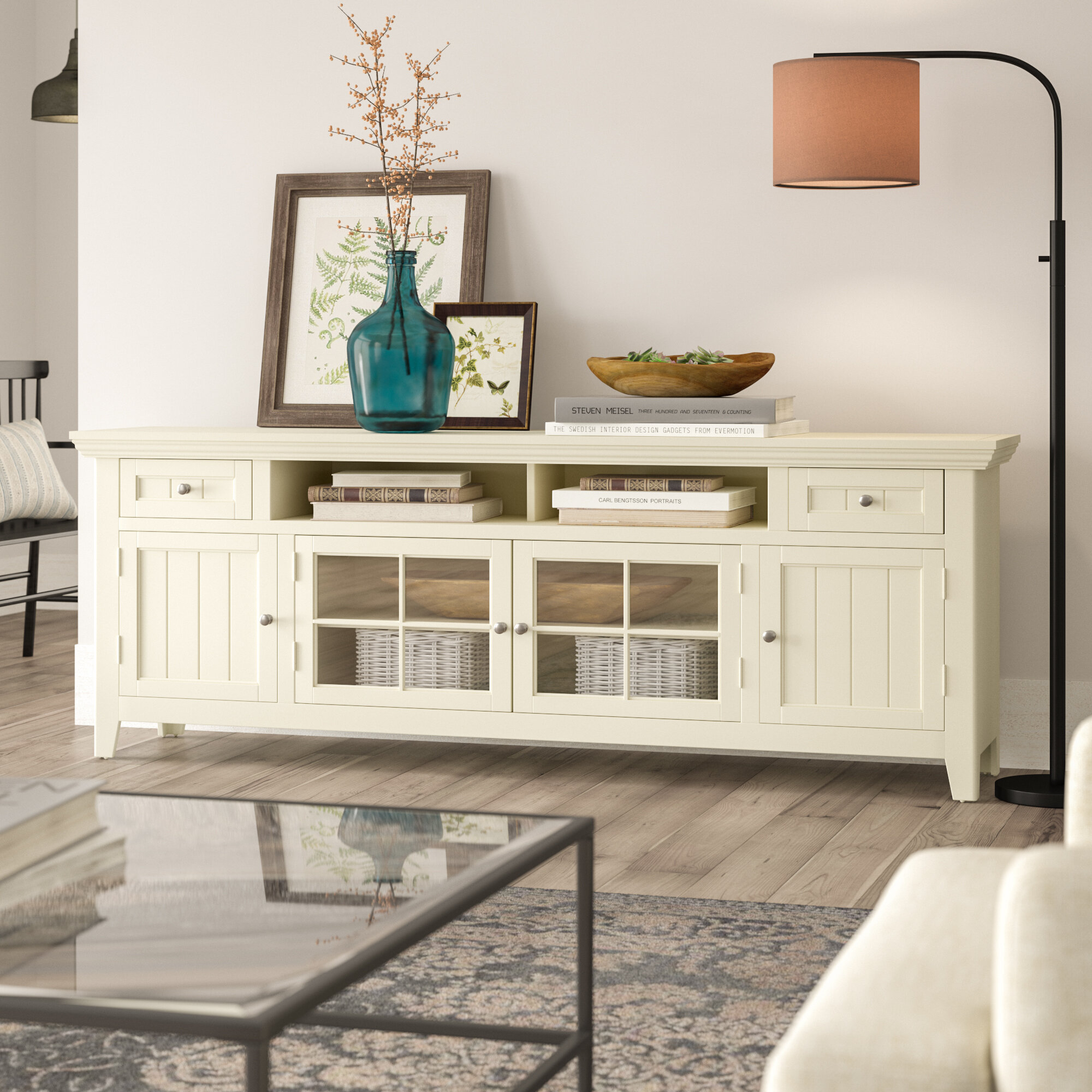 """Yates Tv Stand For Tvs Up To 78"""" Regarding Most Up To Date Colefax Vintage Tv Stands For Tvs Up To 78"""" (#20 of 20)"""