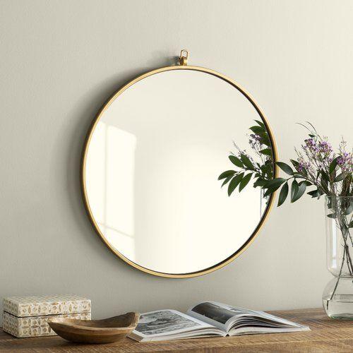 Yedinak Modern Distressed Accent Mirror | Bathroom In 2019 Pertaining To Yedinak Modern Distressed Accent Mirrors (#19 of 20)
