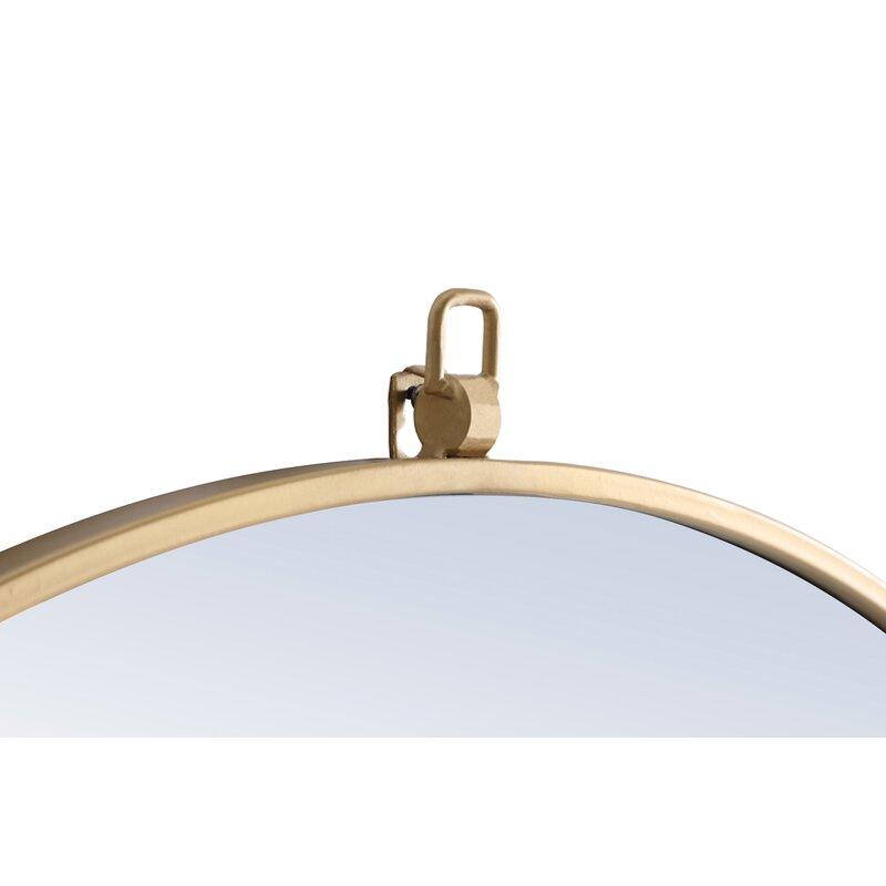 Yedinak Modern Distressed Accent Mirror For Yedinak Modern Distressed Accent Mirrors (#3 of 20)