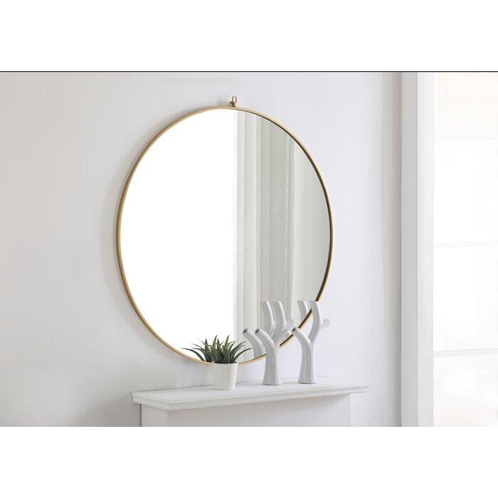 Yedinak Modern Distressed Accent Mirror Inside Yedinak Modern Distressed Accent Mirrors (#5 of 20)