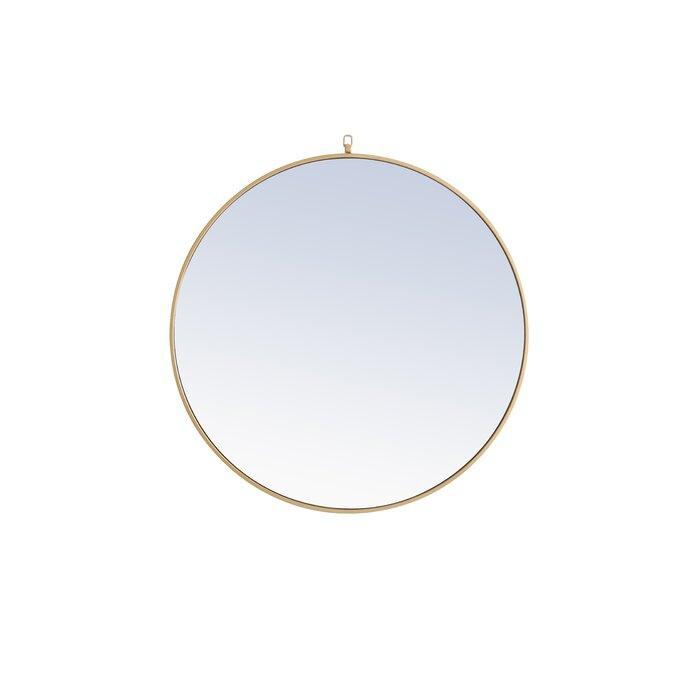 Yedinak Modern Distressed Accent Mirror Intended For Yedinak Modern Distressed Accent Mirrors (#9 of 20)