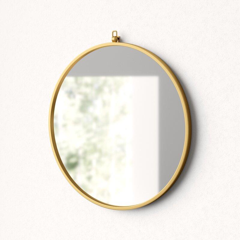 Yedinak Modern Distressed Accent Mirror Intended For Yedinak Modern Distressed Accent Mirrors (#8 of 20)