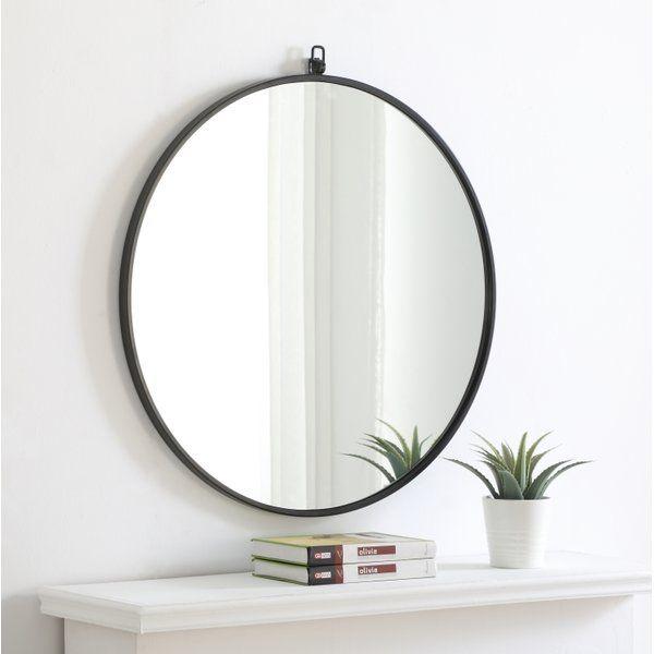 Yedinak Modern Distressed Accent Mirror | Rosemont In 2019 Inside Yedinak Modern Distressed Accent Mirrors (#20 of 20)