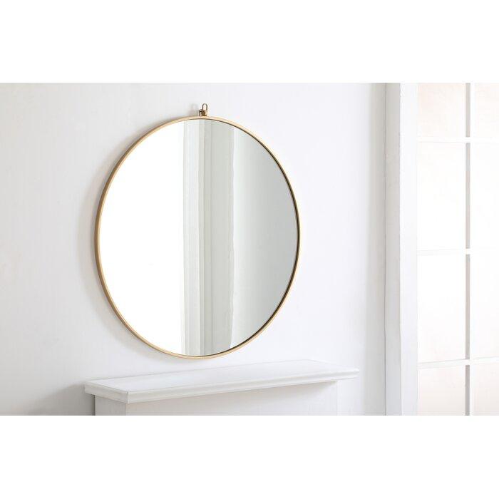 Yedinak Modern Distressed Accent Mirror With Yedinak Modern Distressed Accent Mirrors (#14 of 20)